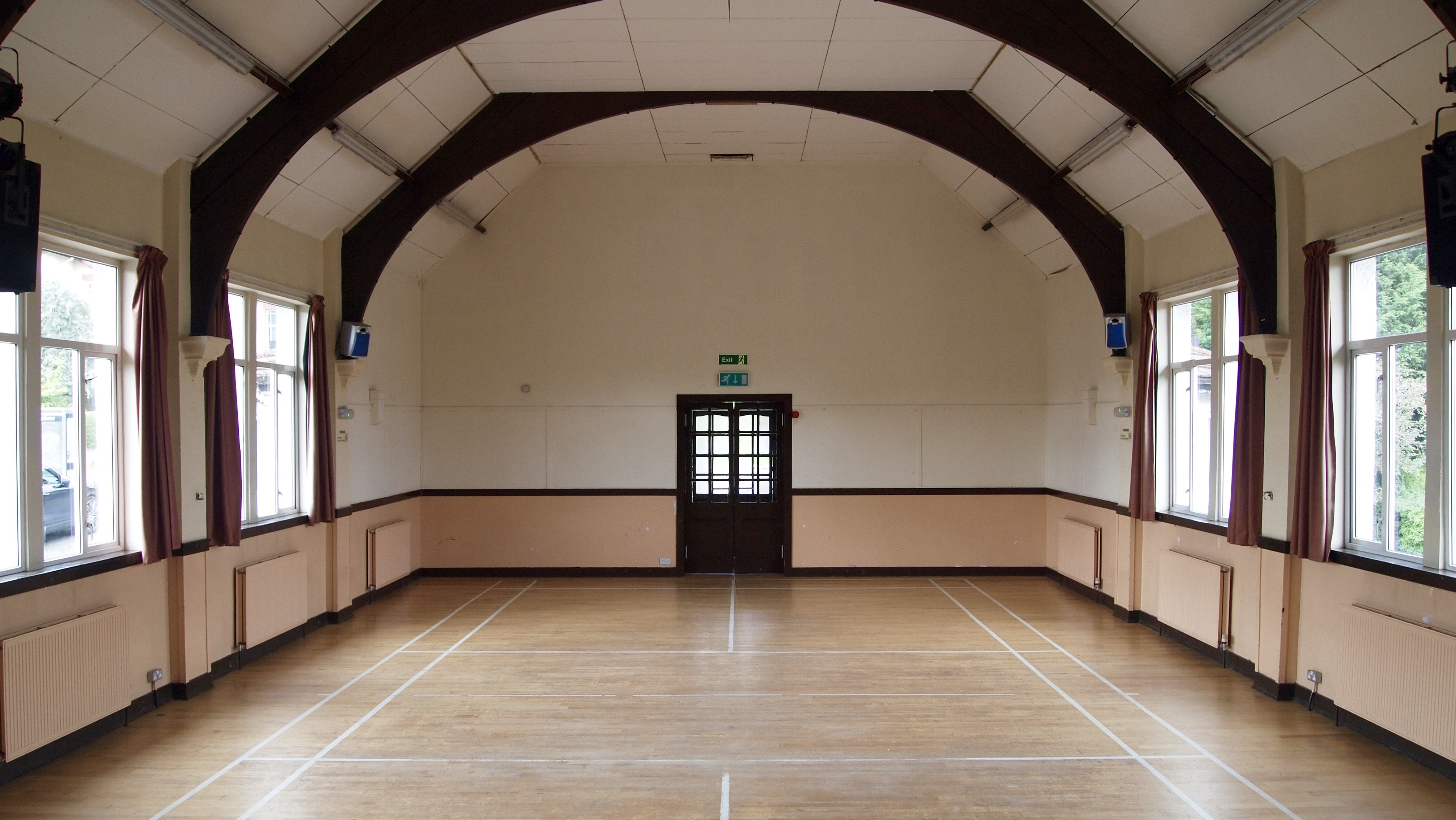 Main Hall towards front entrance