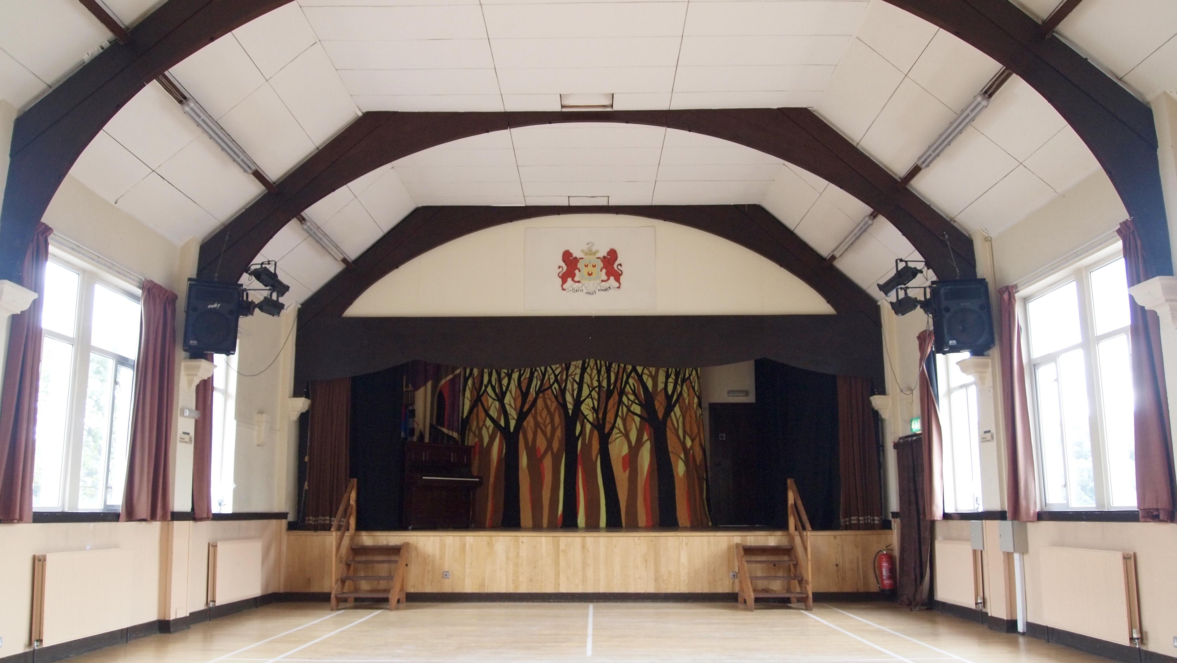 Main Hall towards stage